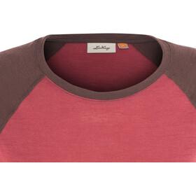 Lundhags W's Merino Light LS Raglan Shirt Garnet/Acai